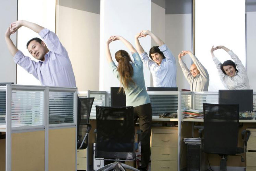 Benefits to Adding Stretching Routine in the Office